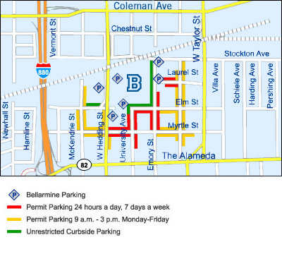 Maps and Directions | Bellarmine College Preparatory San Jose City College Map on sac city college campus map, downtown san jose map, tustin high school map, san jose unified school district map, san jose state university map, simpson university map, cadence san jose campus map, san jose traffic map, la city college campus map, emma prusch farm park map, city college of san francisco map, colleges in utah map, blossom valley map, east san jose map, san jose mcenery convention center map, grove city college campus map, evergreen college map, mt. san jacinto college map, san jose zip map,
